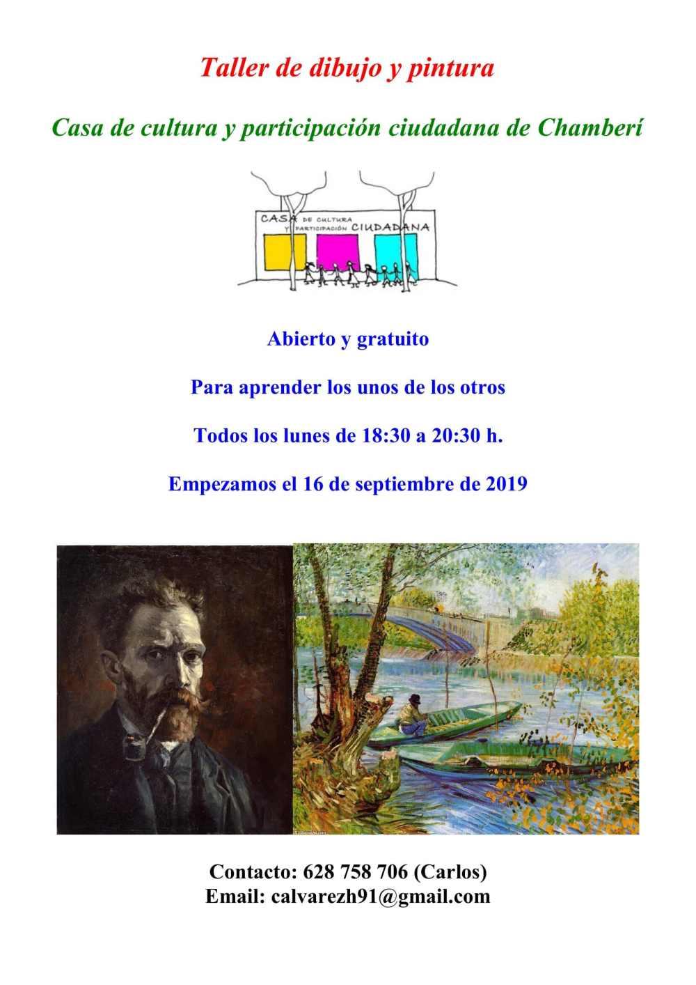 Cartel Taller de dibujo y pintura-3
