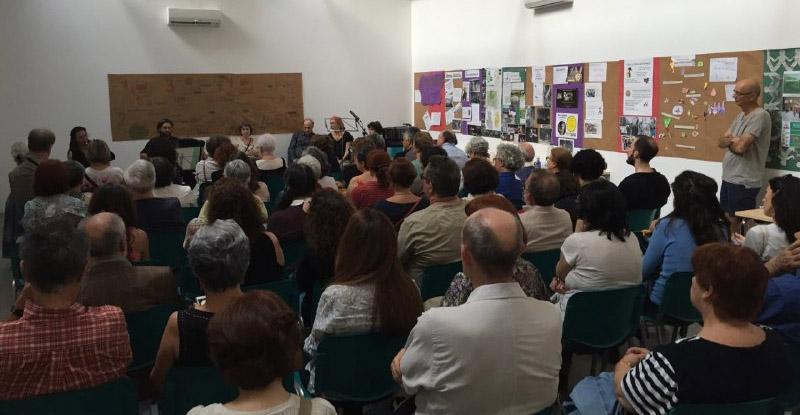 Actuación del dúo 11 de abrazos en la inauguración de Casa de Cultura y Participación Ciudadana